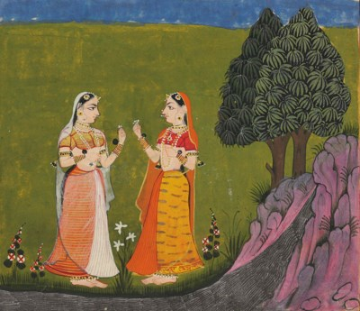 A painting of Ladies with Flow