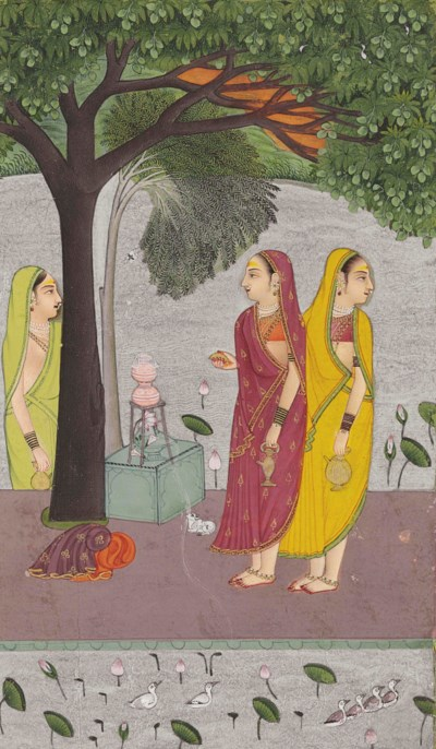 AN ILLUSTRATION TO A RAGAMALA: