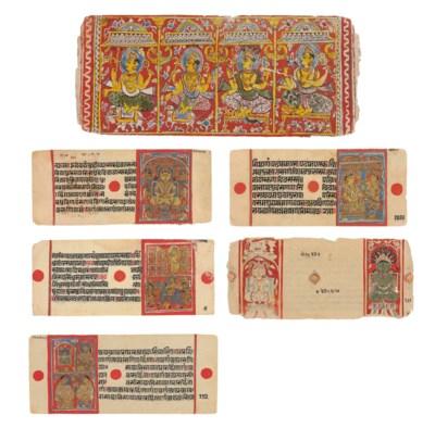 A group of Jain manuscript fol