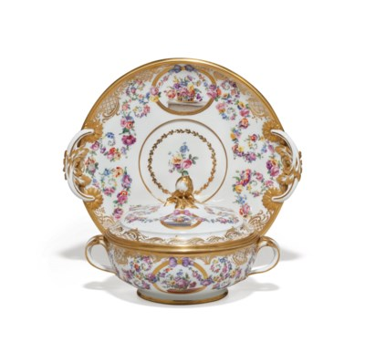 A SEVRES (HARD-PASTE) PORCELAI