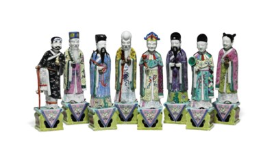 A CHINESE EXPORT PORCELAIN SET