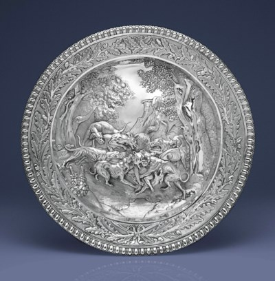 A GEORGE II/WILLIAM IV SILVER