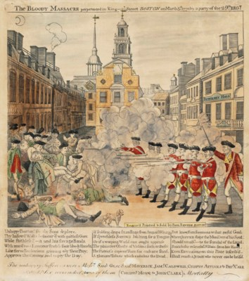 REVERE, Paul (1734-1818). The