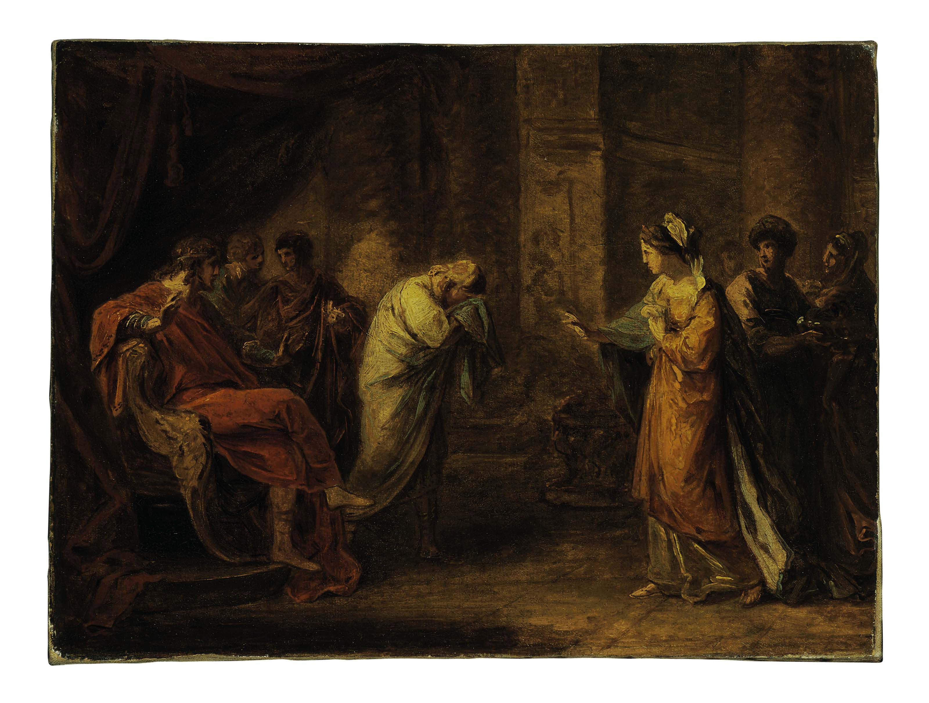 Telemachus at the Court of Sparta