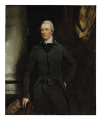 Portrait of the Right Honorable William Pitt, three-quarter-length, in a black coat