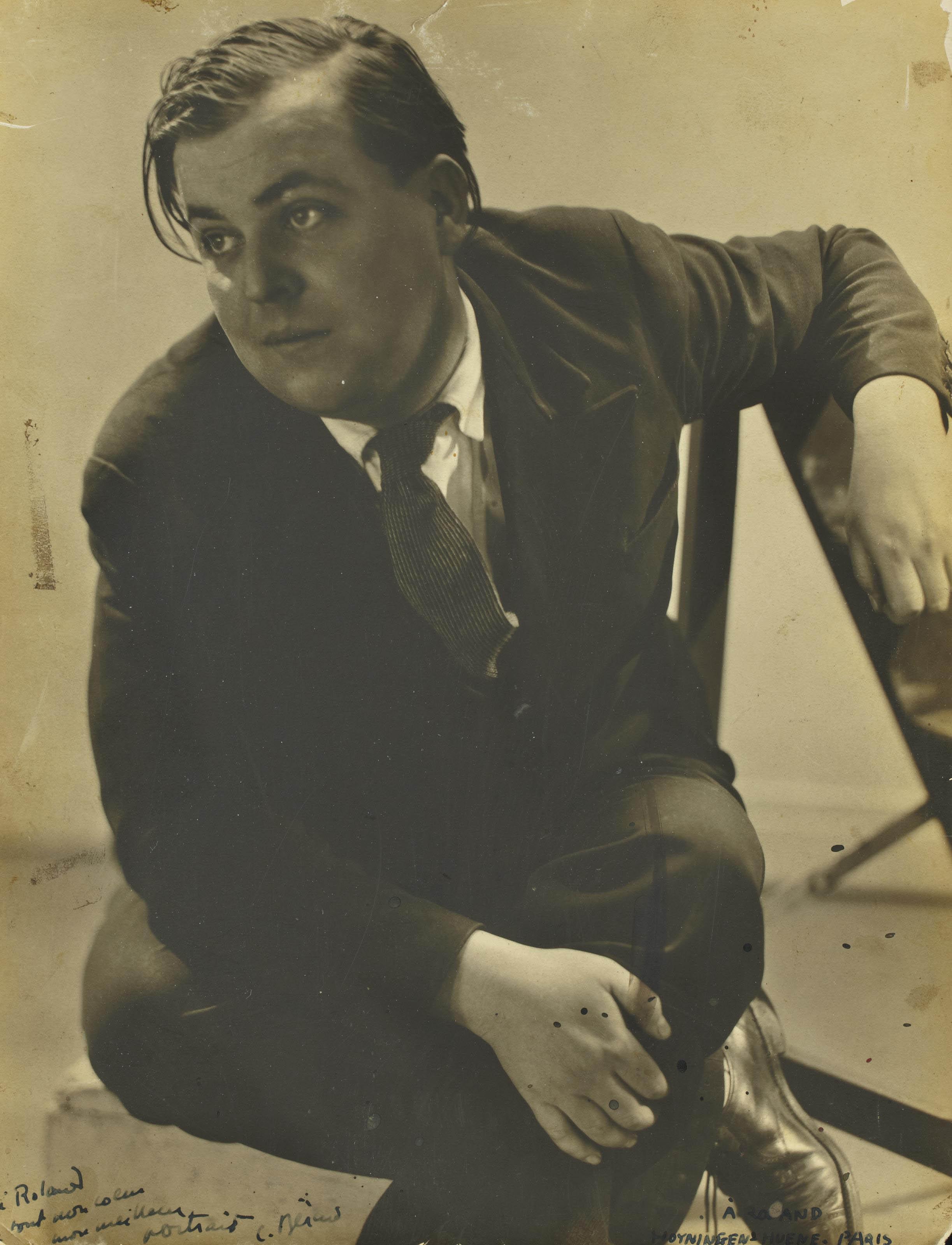 Portrait de Christian Berard, vers 1930