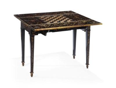 TABLE A JEUX DU XVIIIEME SIECL