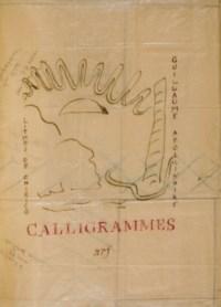 APOLLINAIRE, Guillaume (1880-1918). Calligrammes. Maquette originale. Paris: Maurice Darantière pour NRF, [1930].