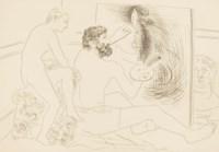 [PICASSO] -- BALZAC, Honoré de (1799-1850). Le Chef-d'oeuvre inconnu. Eaux-fortes originales et dessins gravés sur bois de Pablo Picasso. Paris: Ambroise Vollard, 1931.