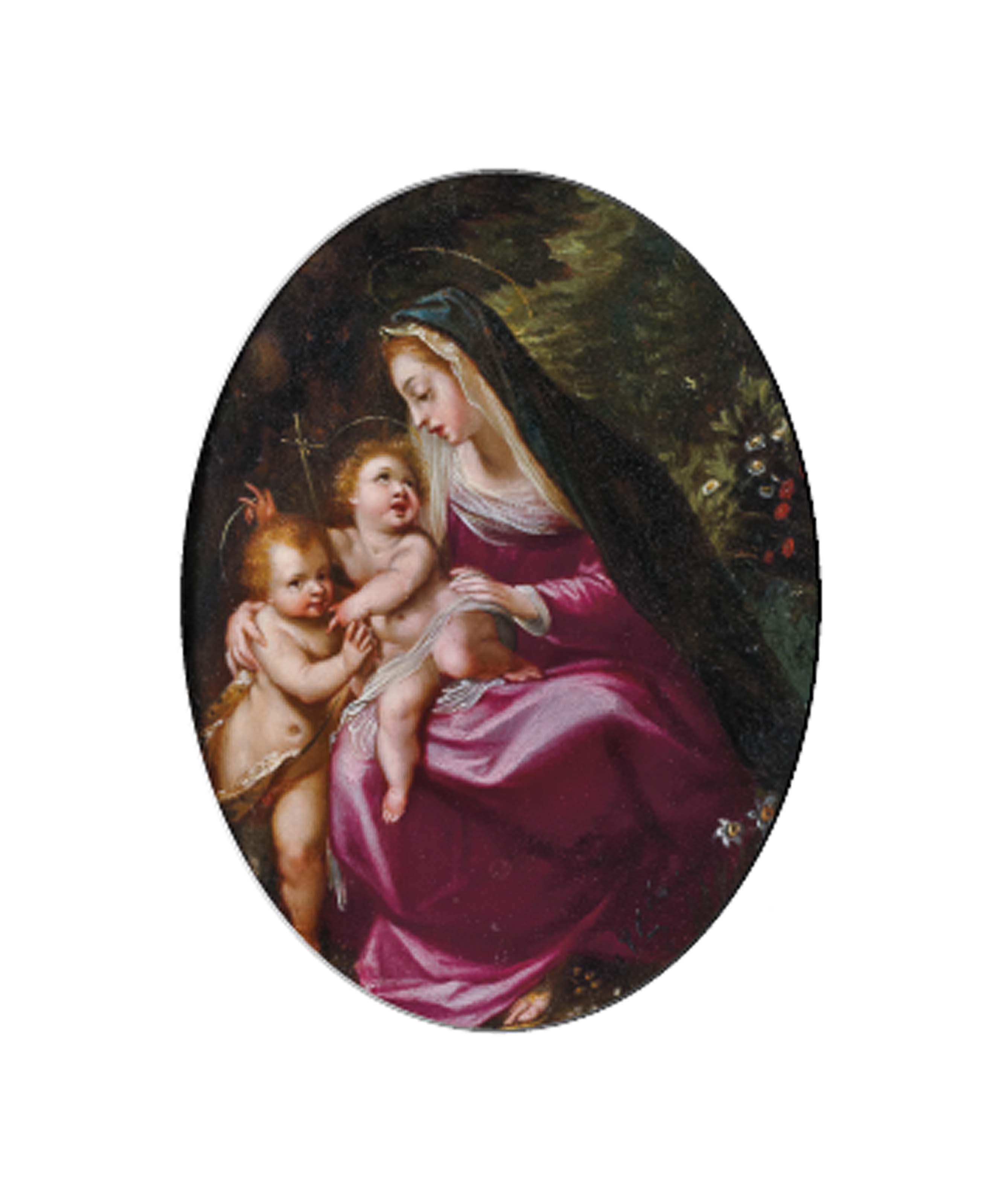 Vierge à l'Enfant avec saint Jean-Baptiste