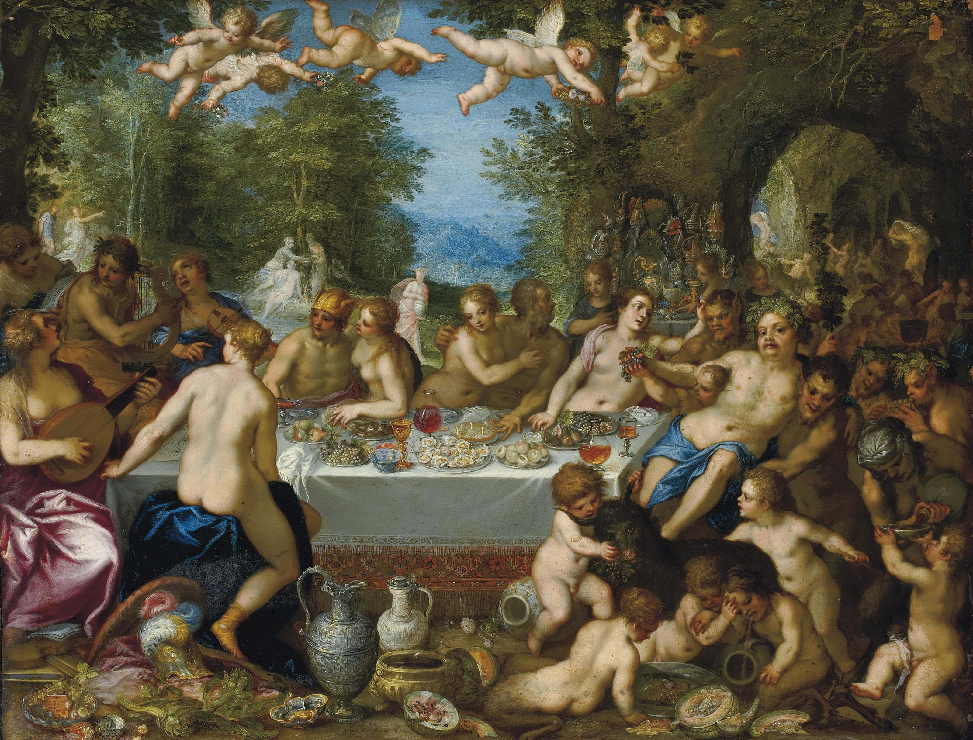 HANS ROTTENHAMMER (MUNICH 1564