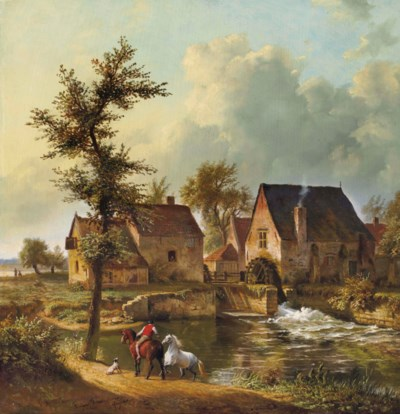 EUGENE-JOSEPH VERBOECKHOVEN (W