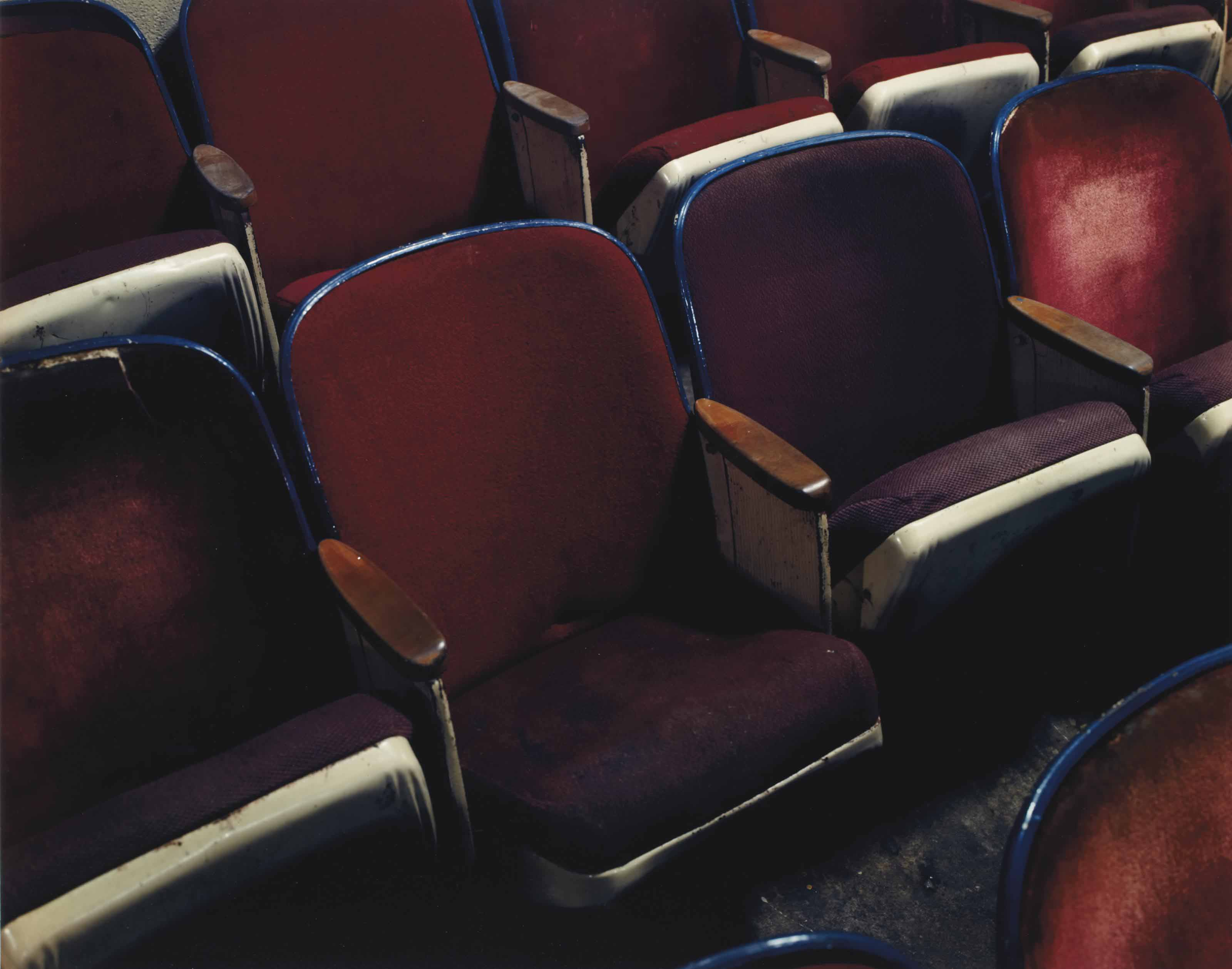 Asile 2, Row 3, Seat 5, Texas Theater, 231 W. Jefferson Street, Dallas, Texas, November, 1993