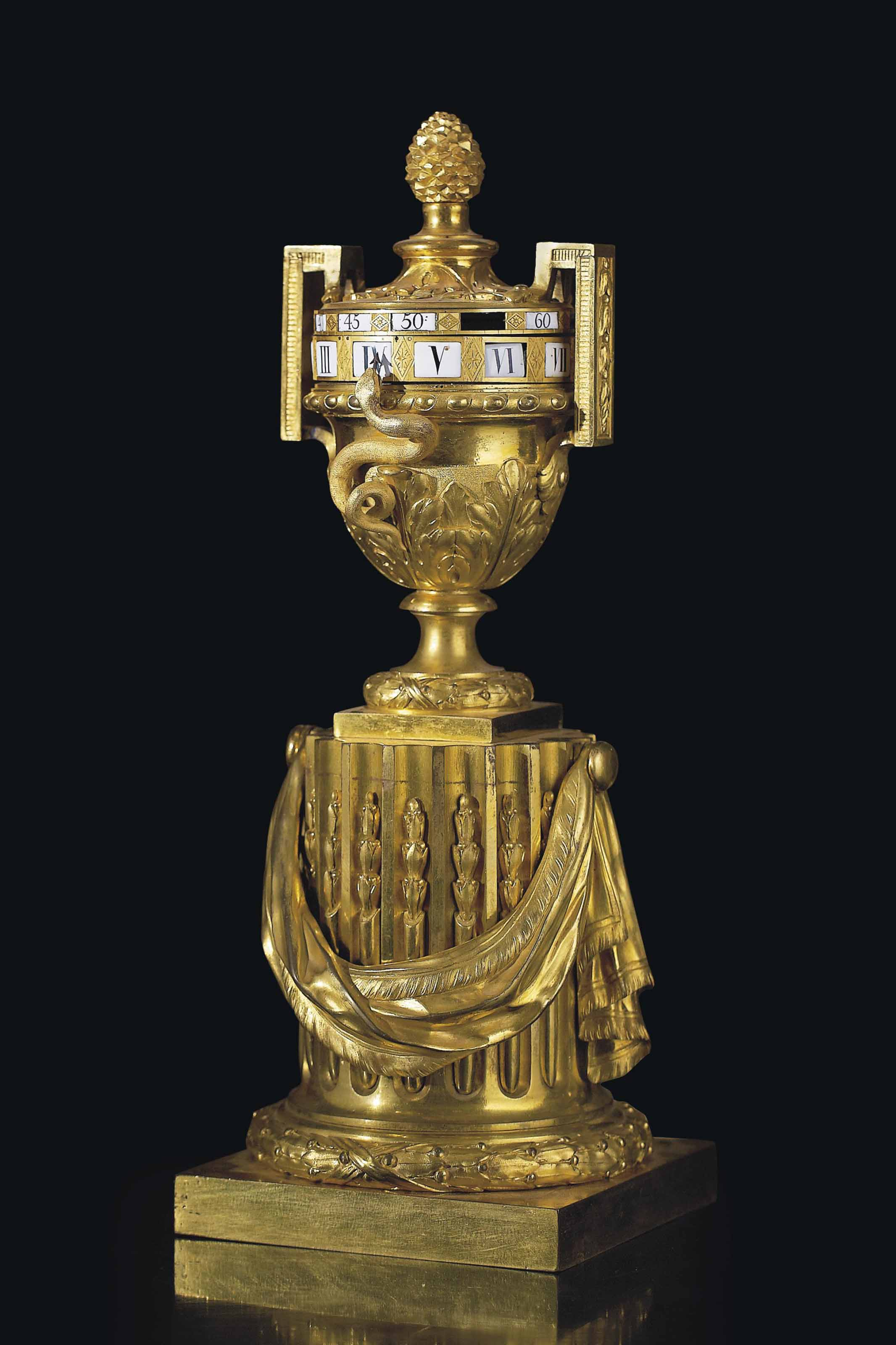 pendule en vase d 39 epoque louis xvi signature de robert osmond vers 1770 christie 39 s. Black Bedroom Furniture Sets. Home Design Ideas