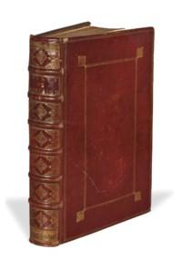 MONTAIGNE, Michel Eyquem de (1533-1592). Les Essais. Nouvelle édition exactement purgée des défauts... Ensemble la vie de l'autheur, & deux tables. Paris: Augustin Courbé, 1652.