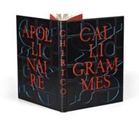 [DE CHIRICO] -- APOLLINAIRE, Guillaume (1880-1918). Calligrammes. Lithos de Chirico. Paris: Gallimard, 1930.