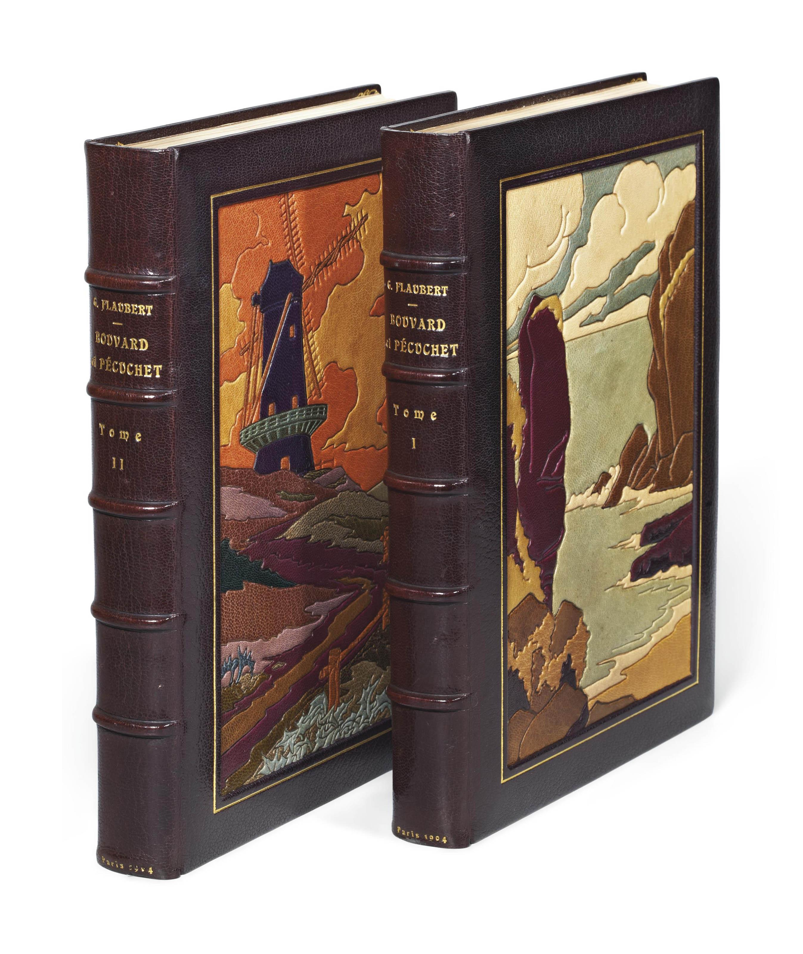 [HUARD] -- FLAUBERT, Gustave (1821-1880). Bouvard et Pécuchet. Illustrations de Ch. Huard. Paris: éditions d'art Piazza, 1904.