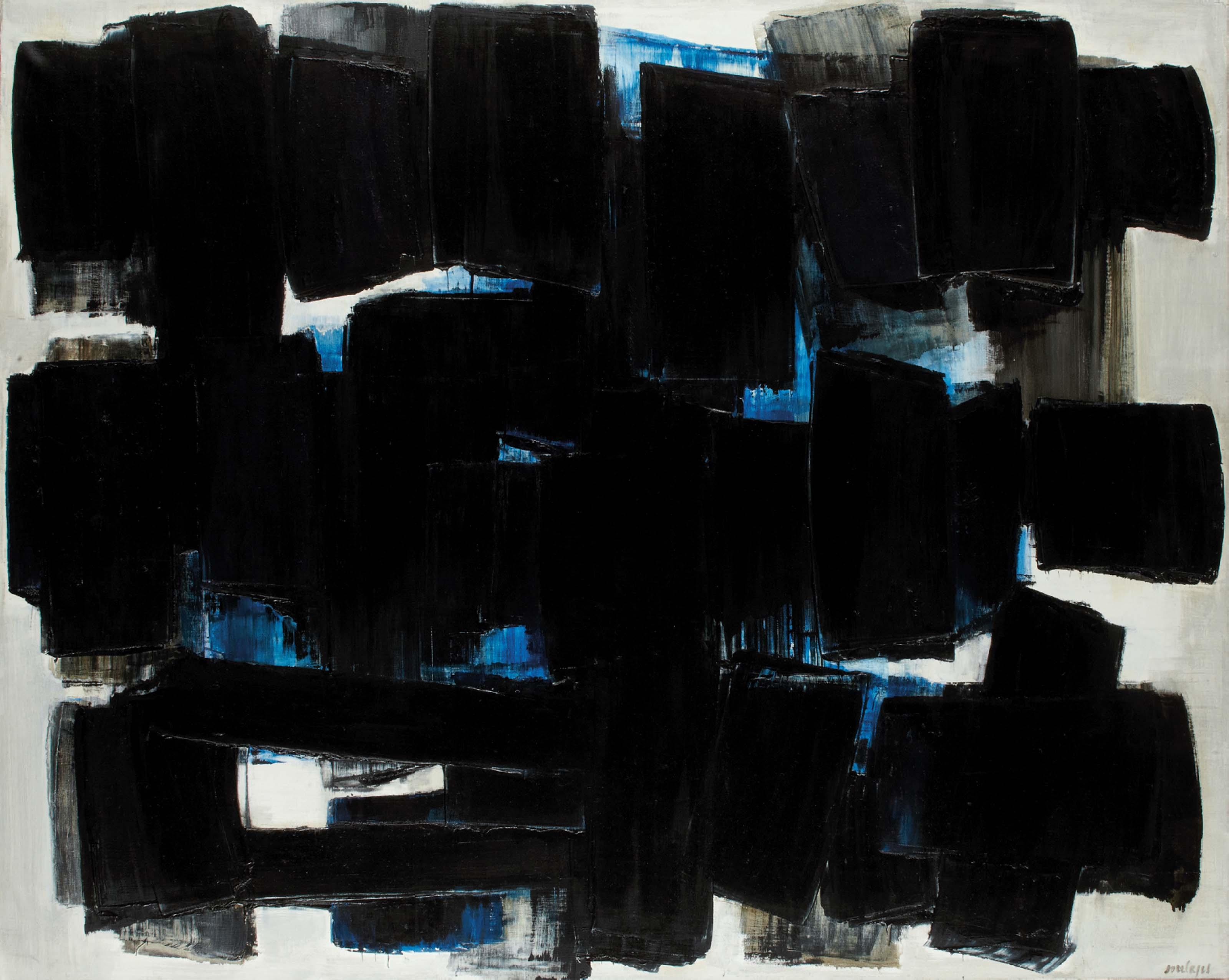 Peinture 130 x 162 cm, 20 juin 1957