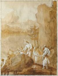 La vocation des fils de Zébédée (Matthieu 4:21-22)