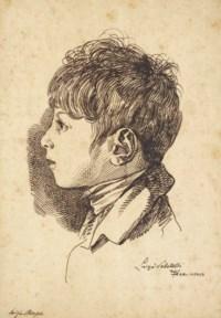 Portrait de Luigi Ricasoli (né en 1801) à l'âge de sept ans