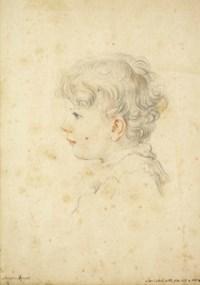 Portrait de Stanislao Ricasoli (1813-1848) à l'âge de quatre ans