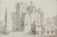 Vue du Château Maurick à Vught aux Pays-Bas