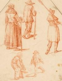 Cinq figures de paysans