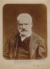 Portrait de Victor Hugo en buste de face, 1872