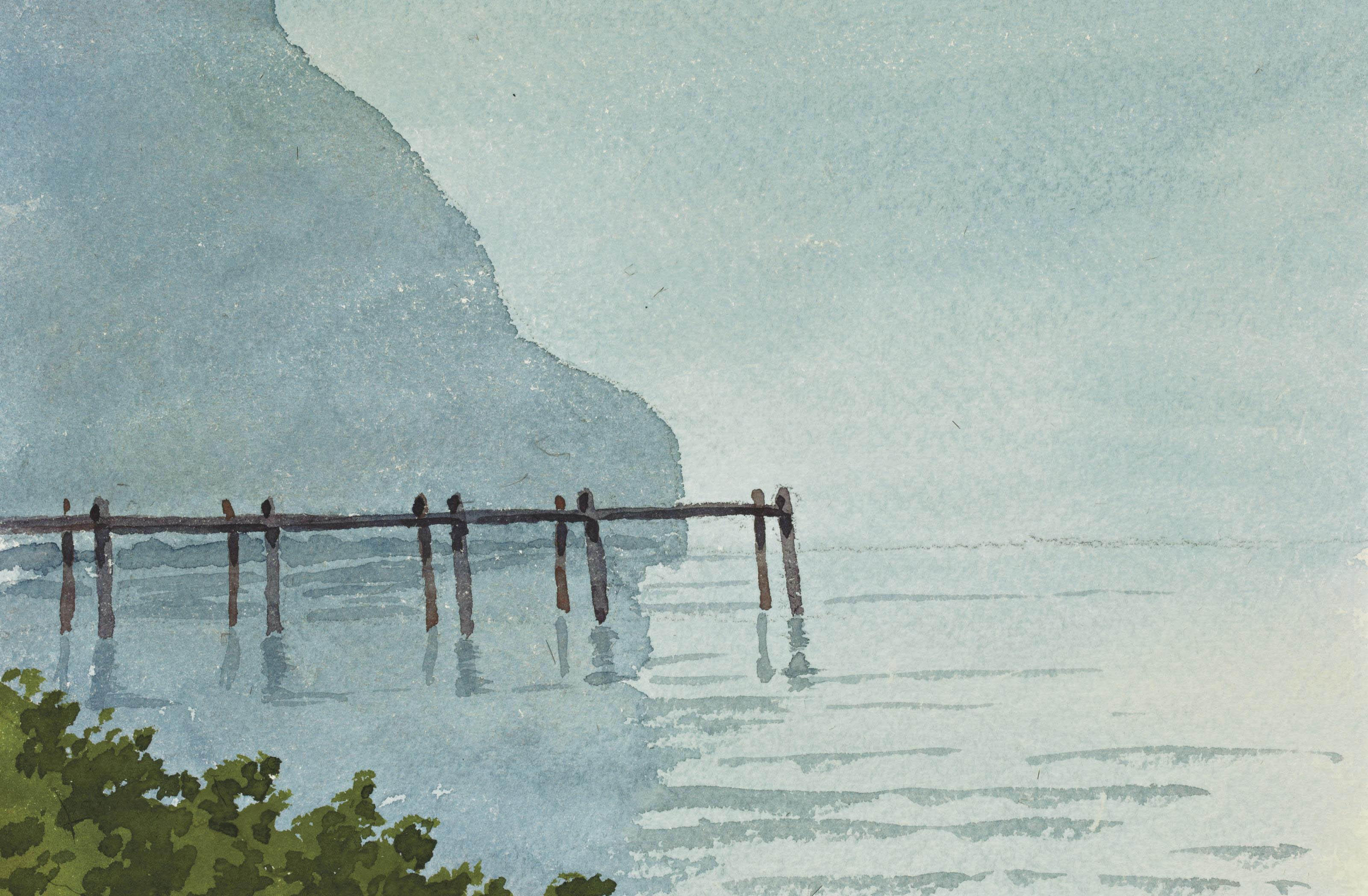 Dix études de paysage
