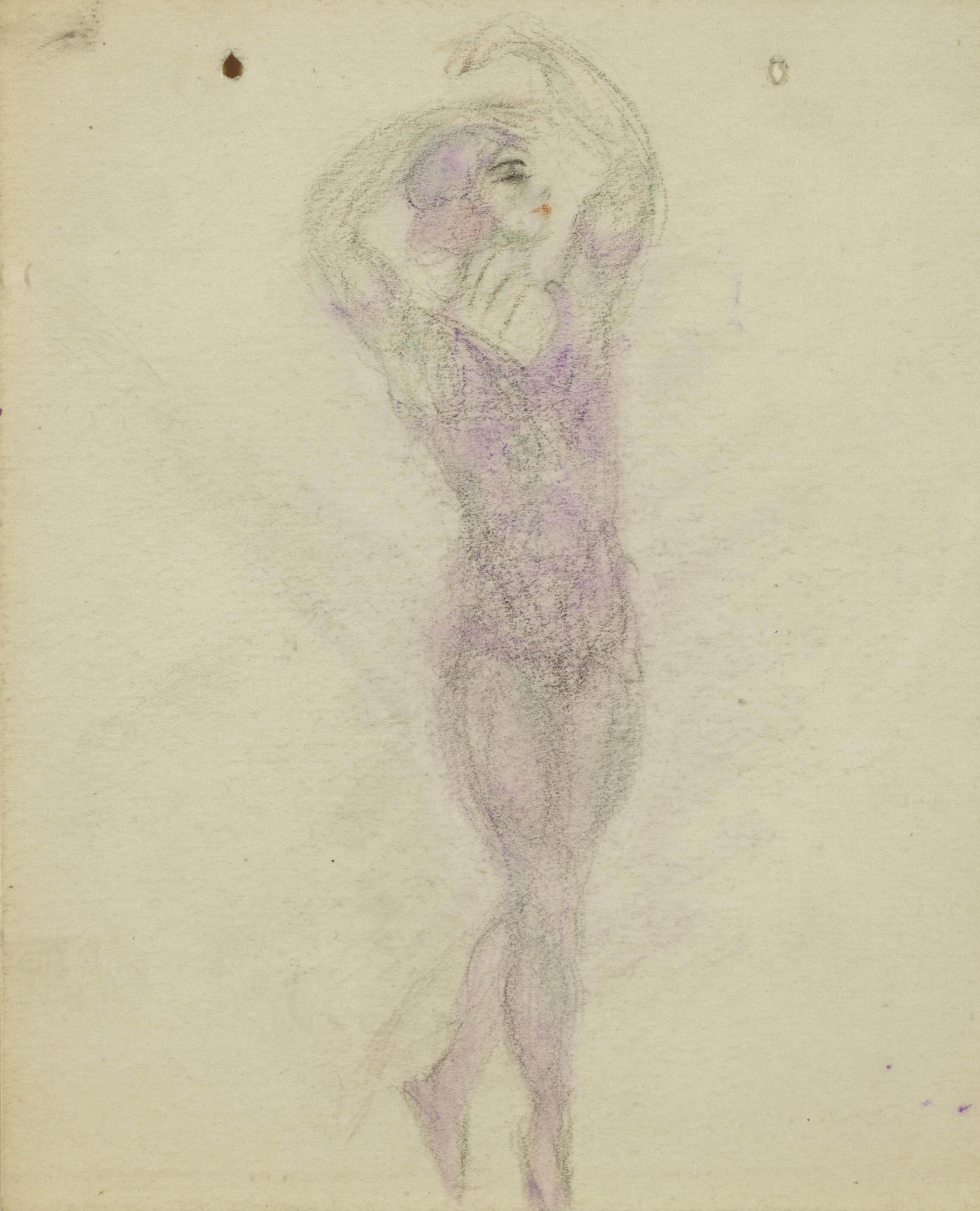 Quatre études de danseuses pour Nijinski