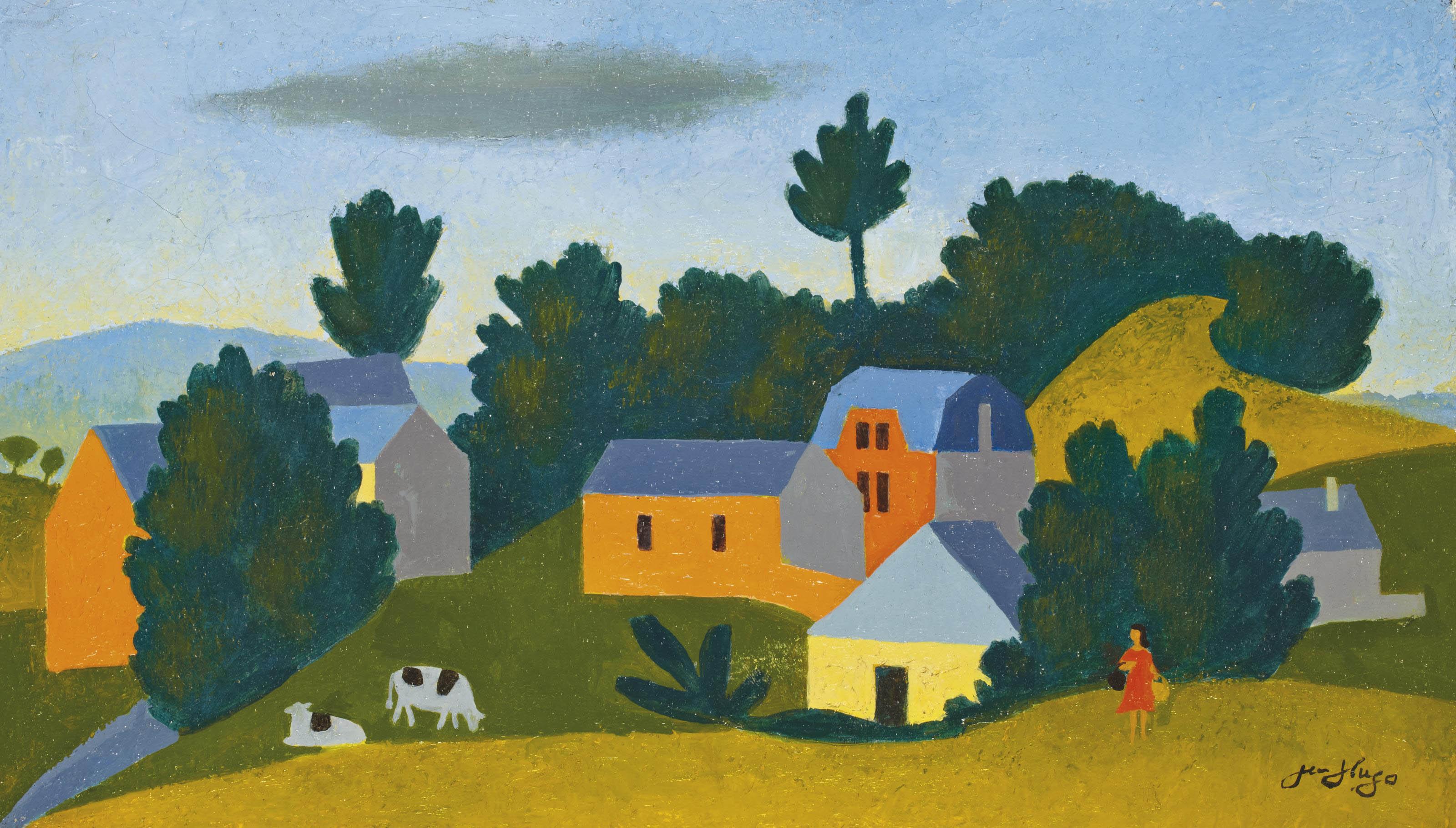 Les deux vaches et la paysanne, 1970