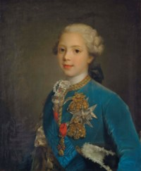 Portrait présumé de Louis-Stanislas-Xavier de Bourbon, comte de Provence, enfant