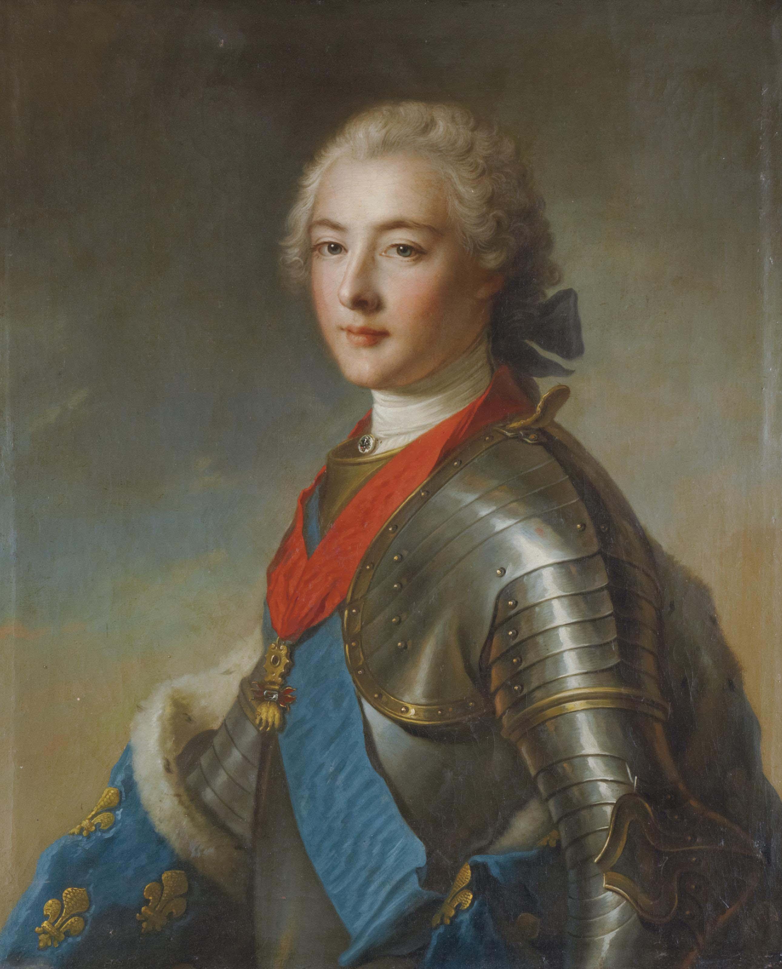 Portrait de Louis XV ou du duc de Penthièvre