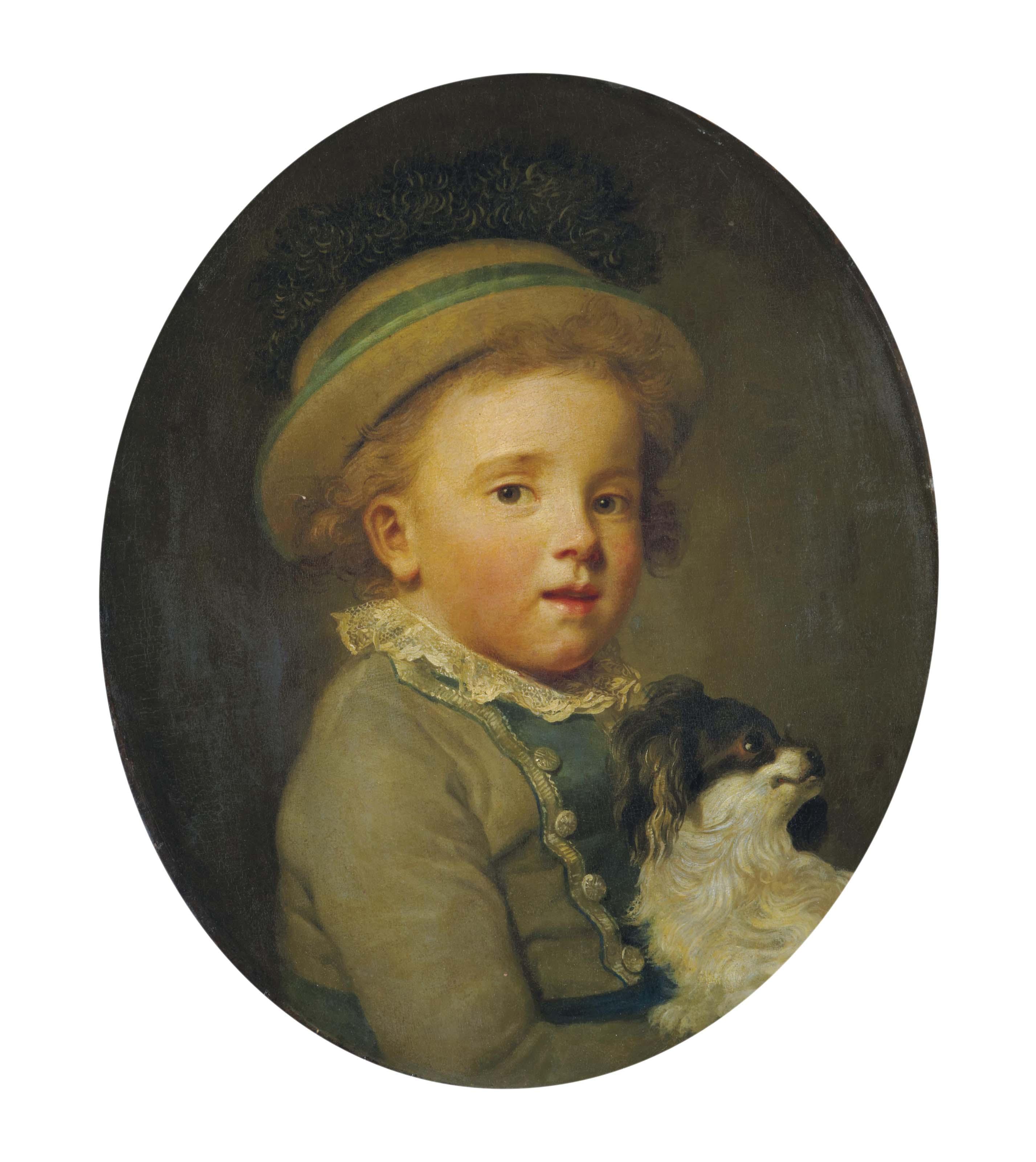 L'Enfant au petit chien