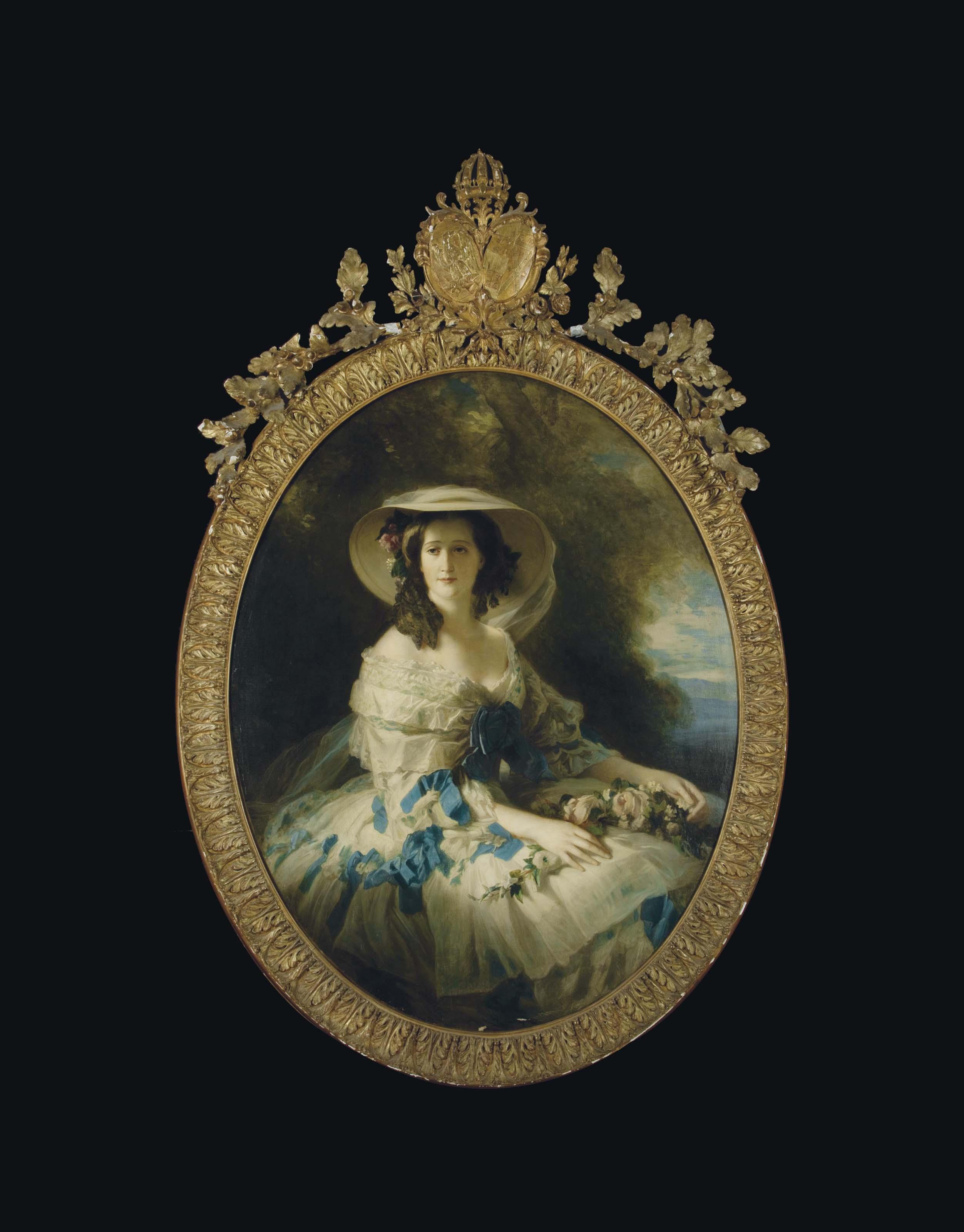 D'après le Portrait de l'impératrice Eugénie