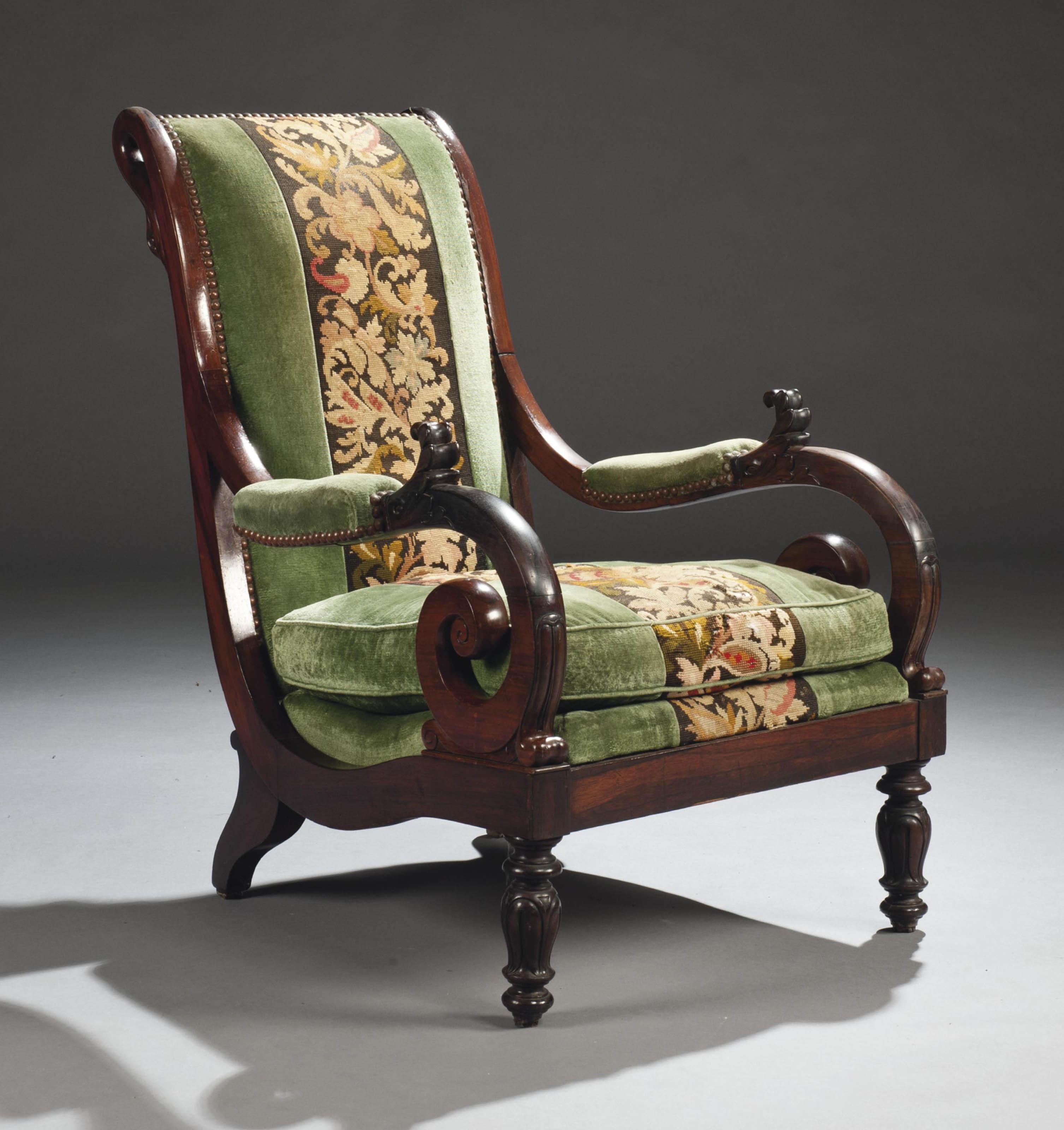 Restaurer Fauteuil Voltaire Moderne fauteuil voltaire d'epoque restauration | vers 1820