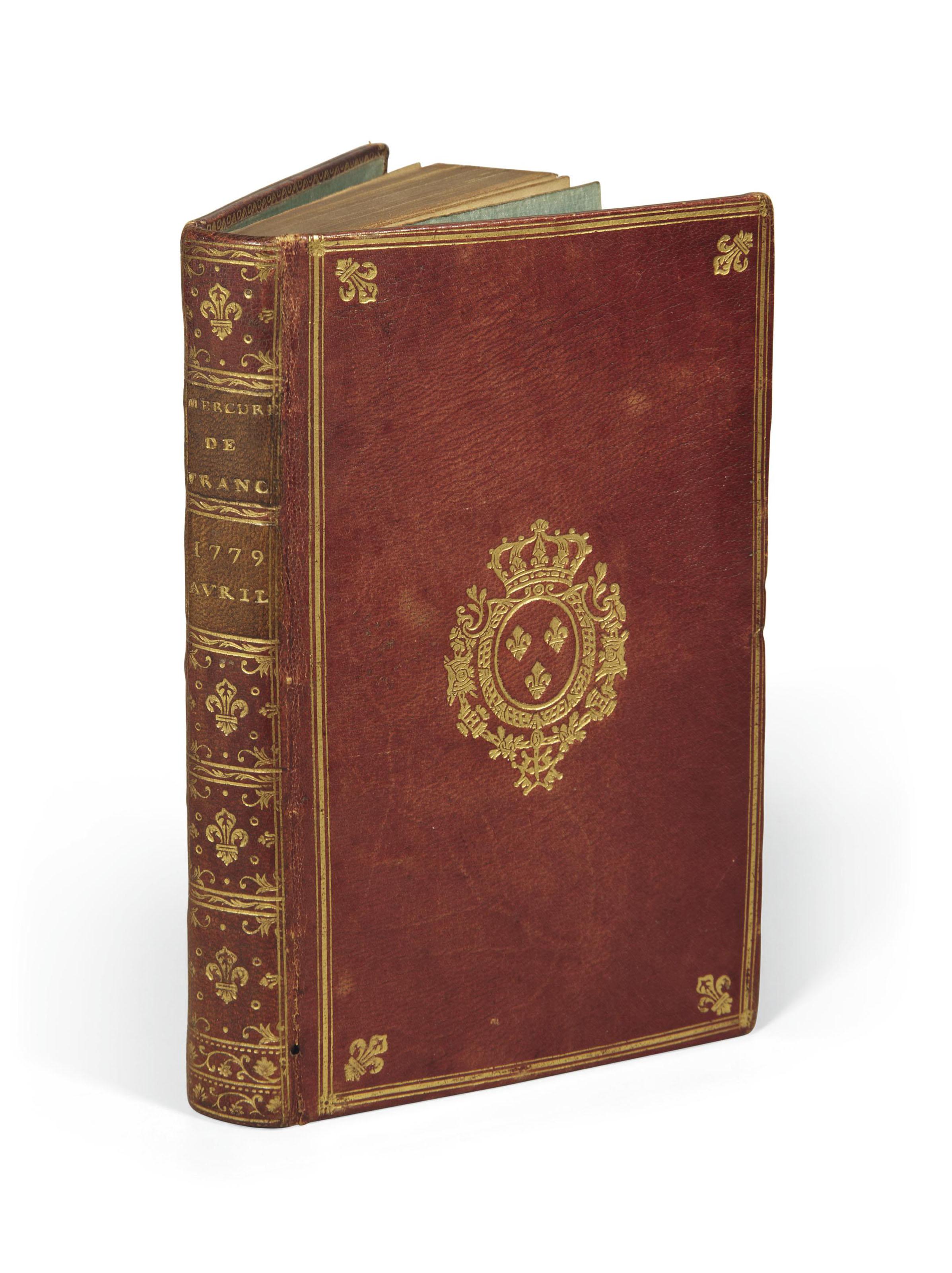 MERCURE DE FRANCE, dédié au Roi, par une société de gens de lettres. Livraisons d'avril 1779. Paris: Panckoucke [1779].