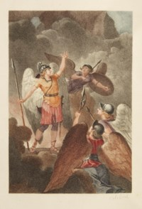 MILTON, John (1608-1674). Le Paradis perdu, poëme. Édition en anglais et en français. Paris: Defer de Maisonneuve, 1792.