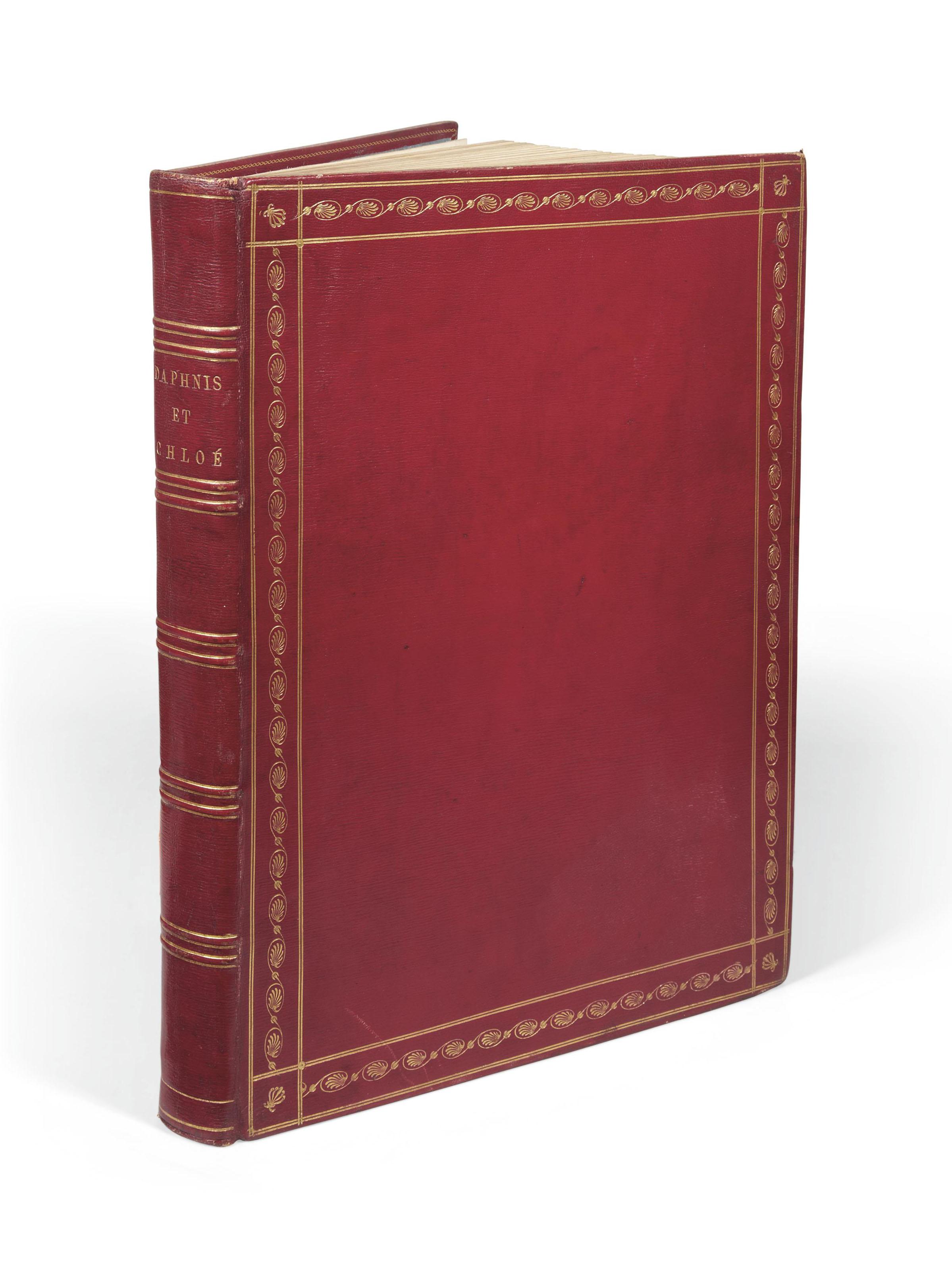 LONGUS. Les Amours pastorales de Daphnis et de Chloé, traduits du grec par Amyot. Paris: Didot, an VIII - 1800.