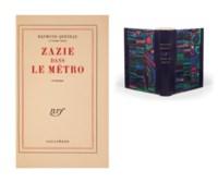 QUENEAU, Raymond (1903-1976). Zazie dans le métro. Paris: NRF, 1959.