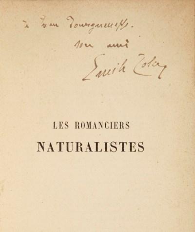 ZOLA, Émile (1840-1902). Les R