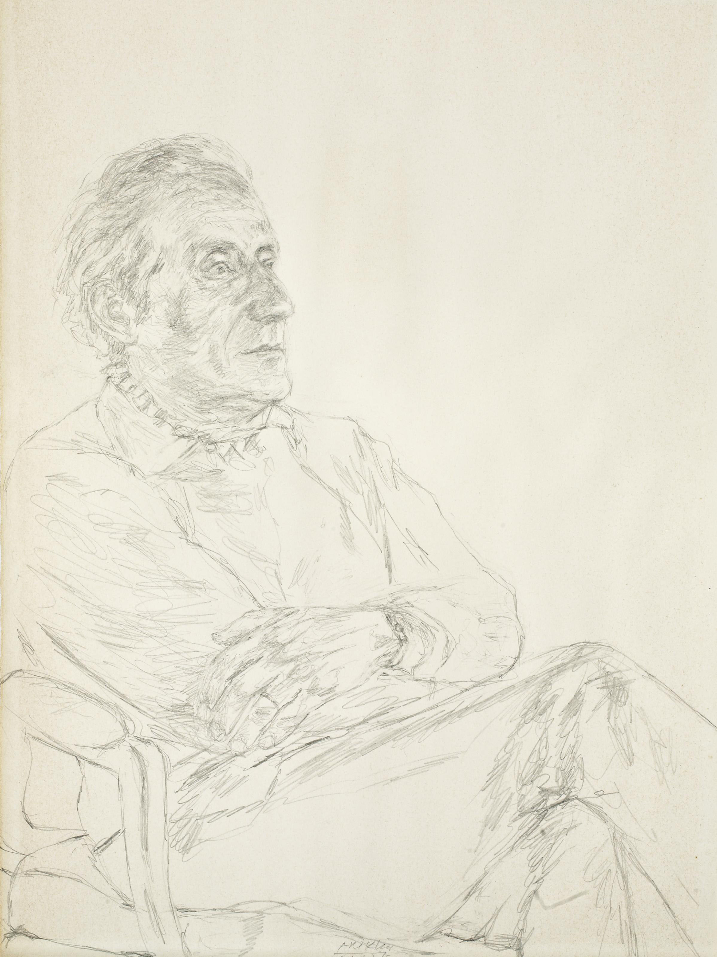 Pierre Berès assis