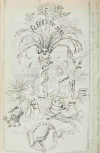 BAUDELAIRE, Charles. Les Épaves. Amsterdam: à l'enseigne du coq [Bruxelles: Poulet-Malassis], 1866.