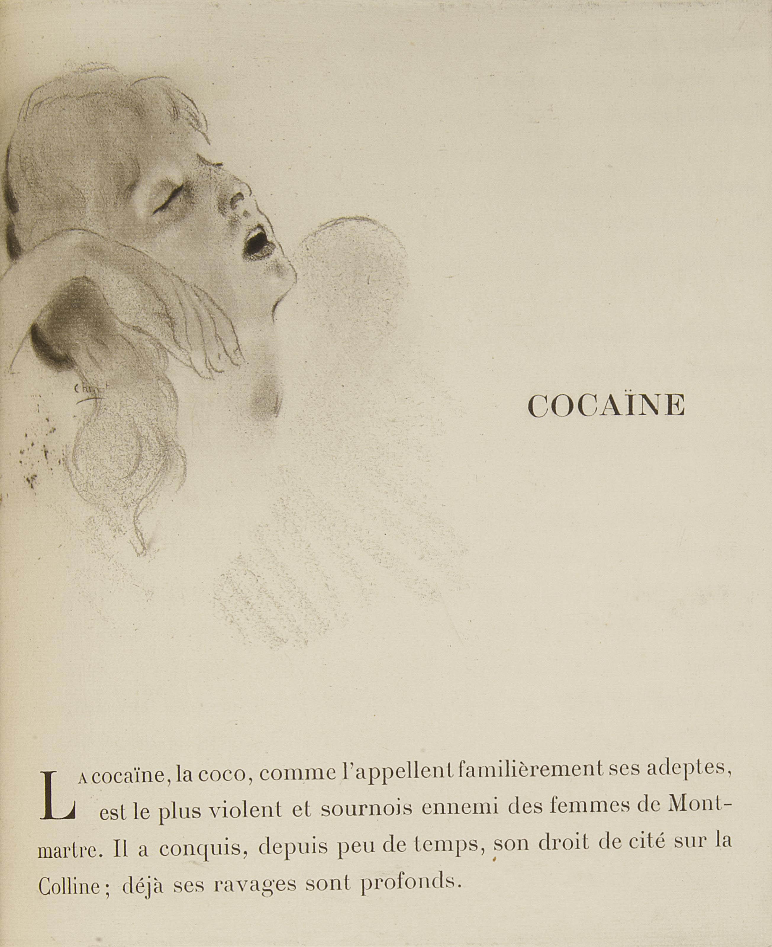 [CHIMOT] --BAUDU, René (1888-1946). Les Après-midi de Montmartre. Eaux-fortes de Édouard Chimot. Paris: l'édition, 1919.