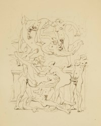 [MASSON] -- [ARAGON, Louis (1897-1982)]. Le Con d'Irène. Eaux-fortes d'André Masson. [Paris: René Bonnel] 1928.