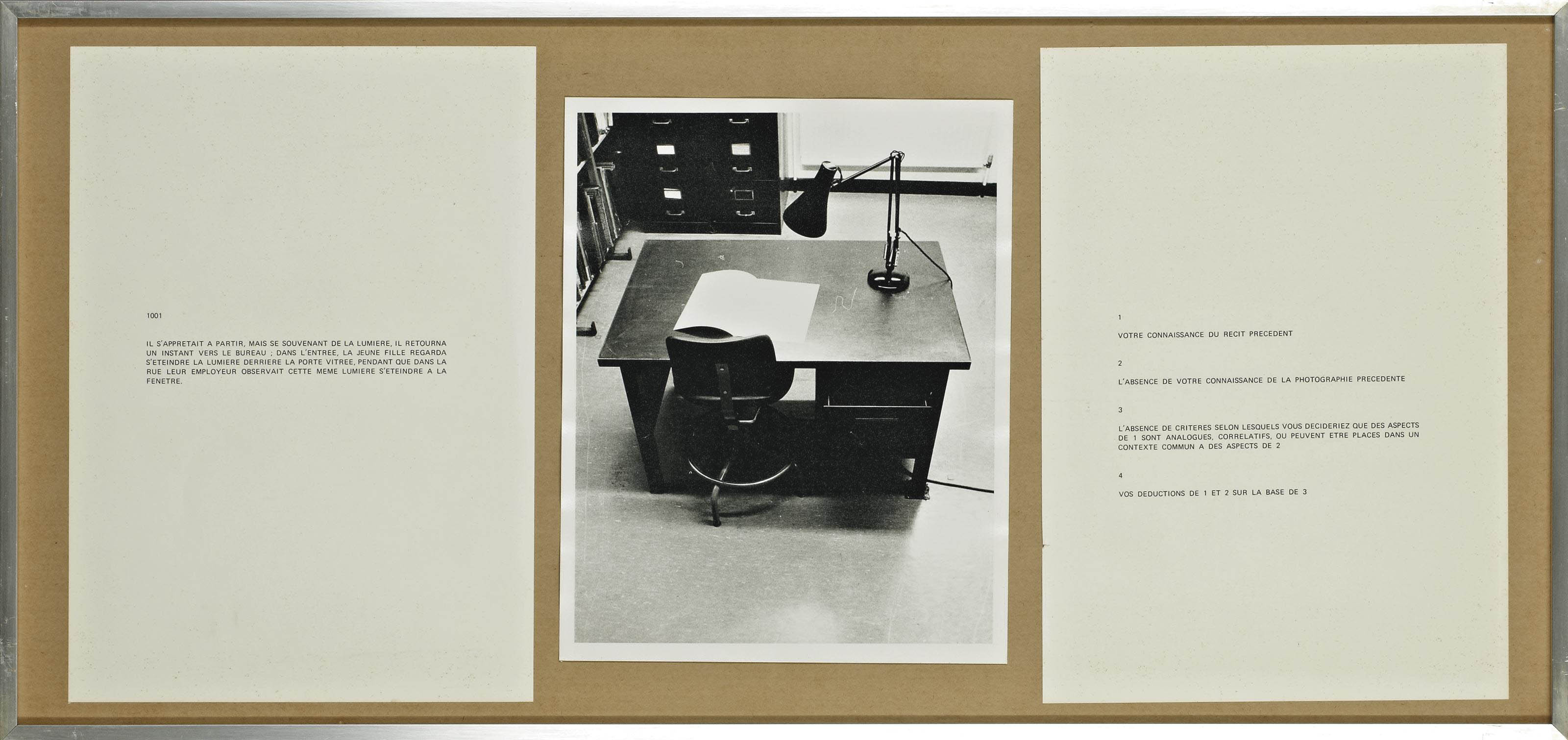 Performative/Narrative (le bureau)