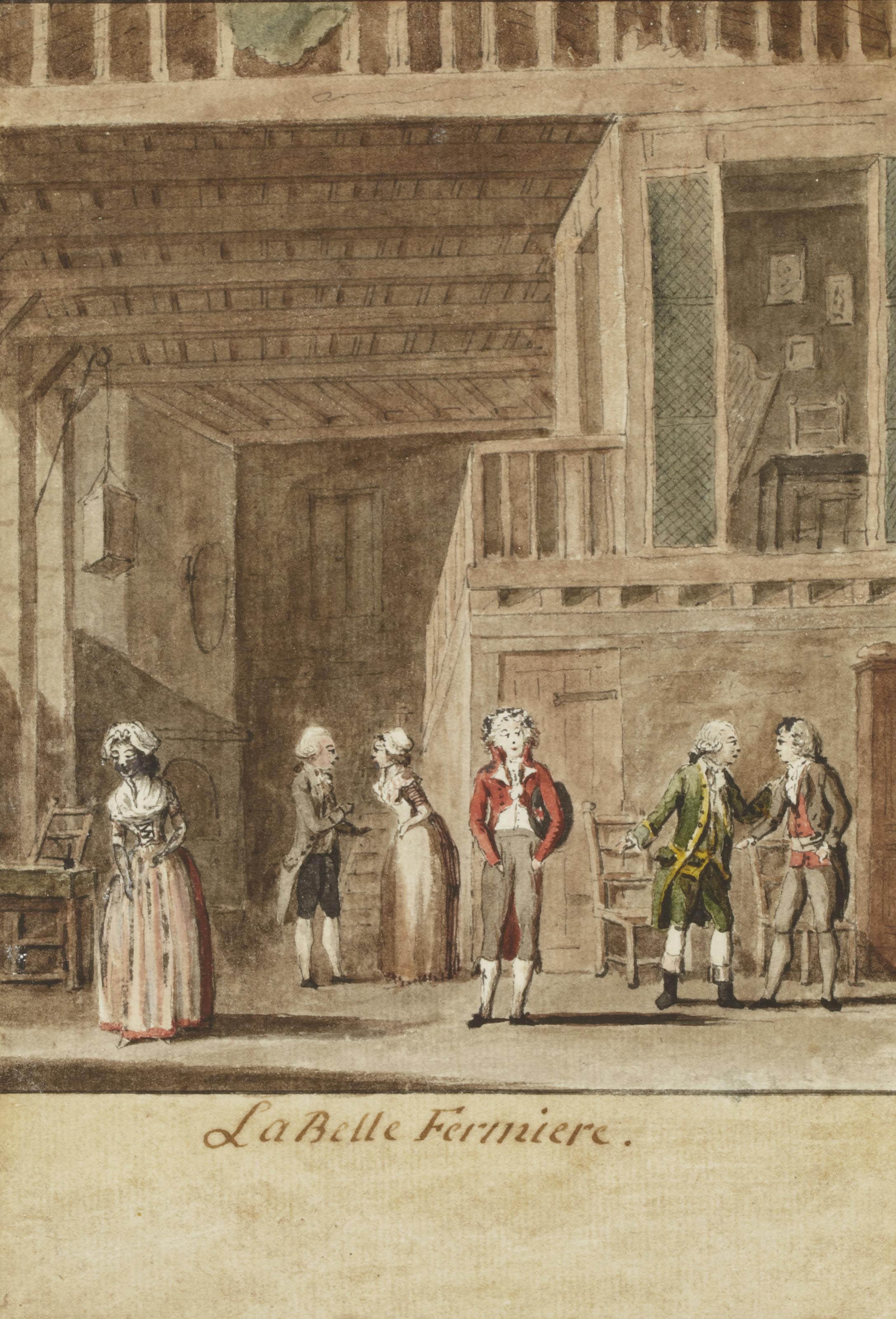 Scène de 'Catherine ou La belle fermière' par Julie Candeille