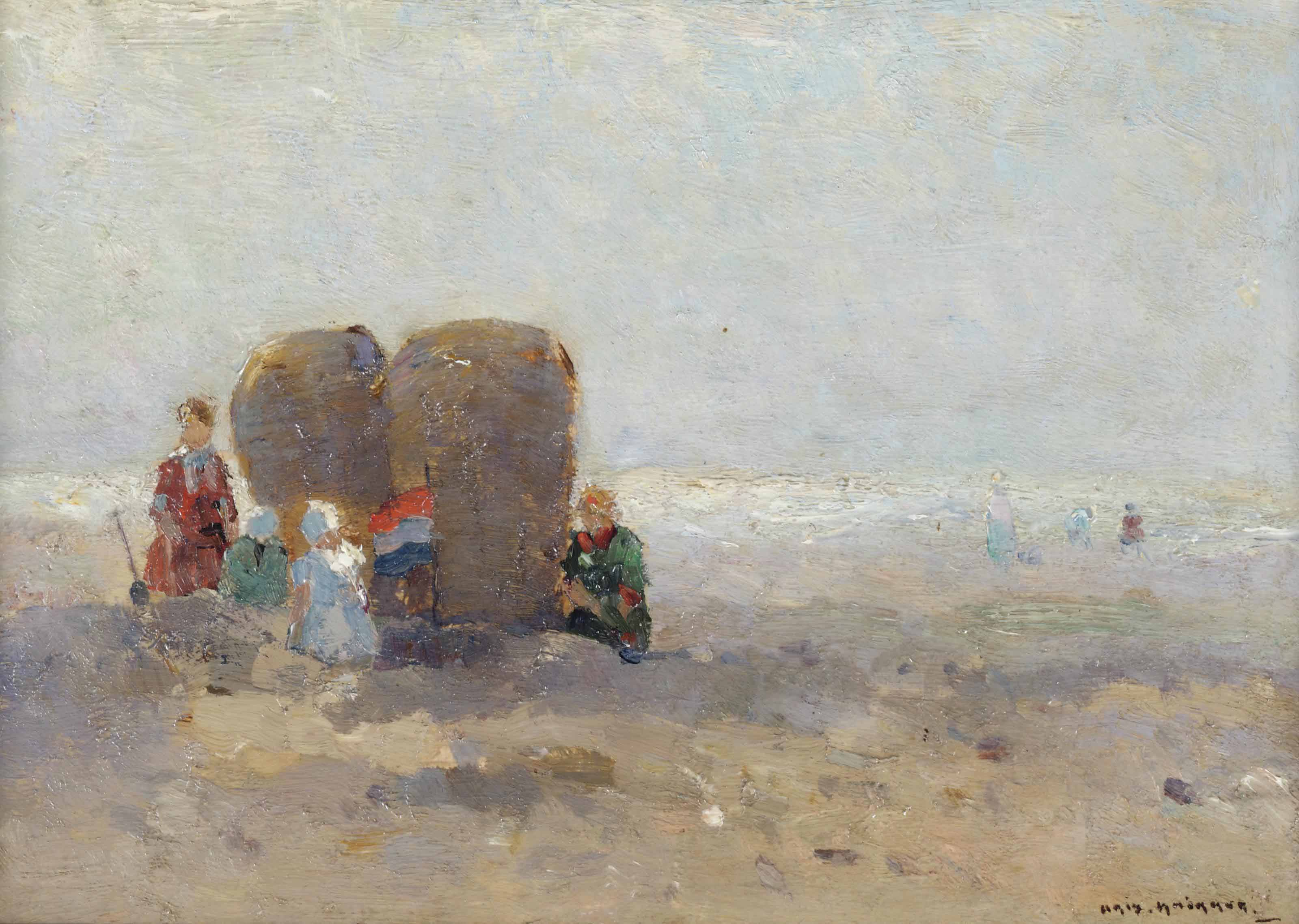 A sunny day at the beach