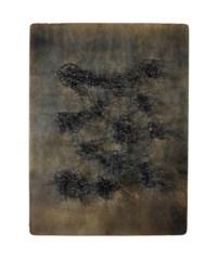 1813 Points blancs sur fond de bois noir