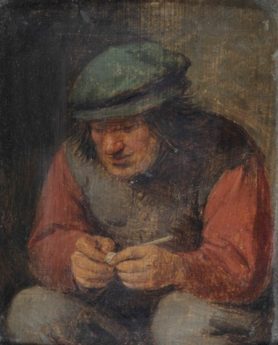 Circle of Adriaen Brouwer (Oud